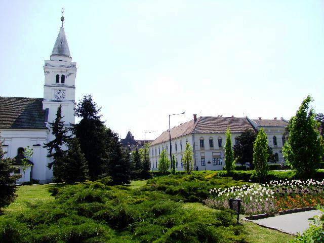 Hodmezovasarhely reformed church and Alfoldi Gallery